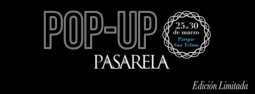 pop up pasarela canaria