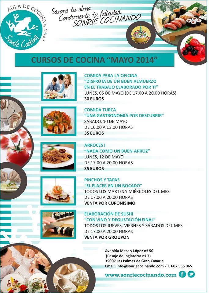 Gran canaria resumen de la agenda cultural del fin de semana ocio las palmas - Curso de cocina las palmas ...