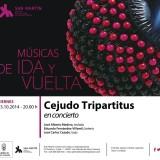 """Concierto de José Carlos Cejudo & Friends cierran el ciclo """"Músicas de ida y vuelta"""""""