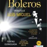 Tributo a Luis Miguel en el Teatro Guiniguada