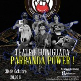 Concierto de Fran Baraja …y La Parranda Blues en el Teatro Guniguada