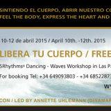 Libera tu cuerpo con el Taller de 5Rhythms® (En Abril en La Puntilla)