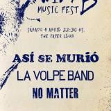 Wild B Music Fest el 4 de abril de 2015 en The Paper Club