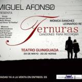 """Miguel Afonso presenta """"Ternuras. Canciones para recordar"""" en el Teatro Guiniguada"""