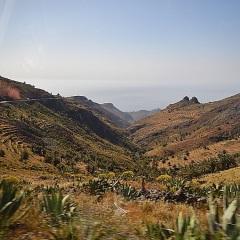 La Gomera, día I, La Isla Mínima