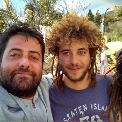 La Palma día I: Ana, Sven, Leo, Ricardo, Dumbo, Matias, Cheraldine etc..