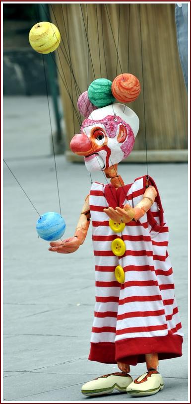 'Pepeluna Cirkus', con Títeres Pepe Luna