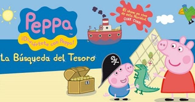 'Peppa Pig. La búsqueda del tesoro'