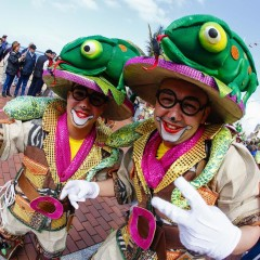 Los conciertos de La Trova, Los Lola y la Orquesta Golosina se suman a las mascaritas para celebrar en Santa Catalina el Martes de Carnaval