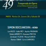 Ópera: 'Simón Boccanegra', de verdi en el Teatro Pérez Galdós