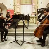 Concierto de Trío Néstor Álamo y Cuarteto Camille Saint-Saëns