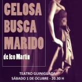 """""""Mujer celosa busca marido"""", tragicomedia escrita por Ico Martín, en el Teatro Guiniguada"""