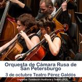 La Orquesta de Cámara Rusa de St. Petersburgo, todo un lujo en el Teatro Pérez Galdós