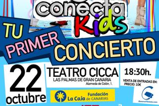 Conecta Kids te invita a tu primera fiesta en el CICCA