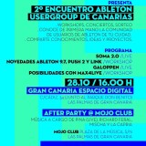 2º Encuentro Ableton User Group Islas Canarias