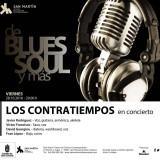 Nuevo concierto del ciclo De Blues, soulcon el grupo Los Contratiempos.