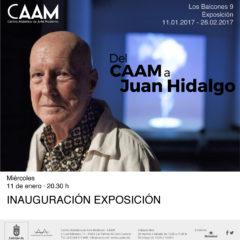 Del CAAM a Juan Hidalgo, desde el 11 de enero, en el CAAM