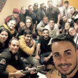Concierto de Jóvenes cantadores en el Pueblo Canario