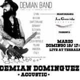 Concierto de Demian Band en La Guarida del Blues