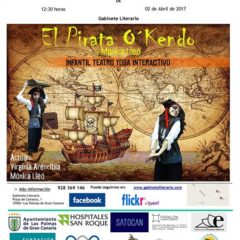 'El pirata O'Kendo', de Mónica Lleó en el Gabinete Literario