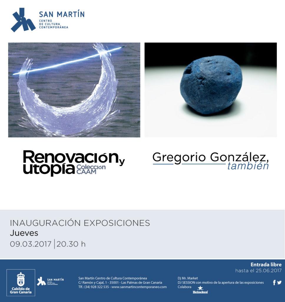 Doble inauguración exposiciones en San Martin 09.03.2017