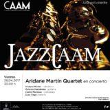JazzCAAM: Concierto de Aridane Martín Quartet