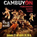 """Distrito Cultura presenta en el CICCA la obra """"Cambuyón"""""""