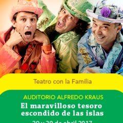 El Maravilloso tesoro escondido de las Islas en el Auditorio Alfredo Kraus