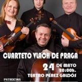 Concierto del Cuarteto Vlach de Praga en el Teatro Pérez Galdós