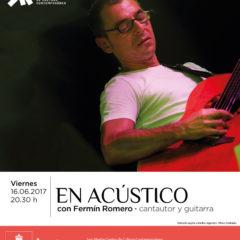 Concierto de Fermín Romero en el San Martín Centro de Cultura Contemporánea