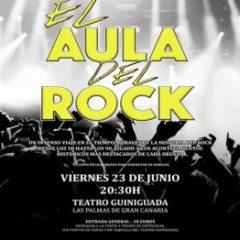 """""""El Aula del Rock"""", es un proyecto musical con el que dar a conocer las diferentes vertientes de este movimiento cultural a través de distintas épocas"""