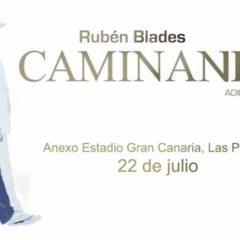 Rubén Blades regresa a Gran Canaria el 22 de julio