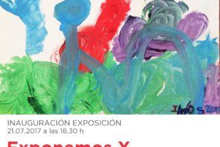 'Exponemos' Exposición de arte infantil