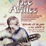 Concierto de José Artiles en la Casa de la Cultura Saro Bolaños