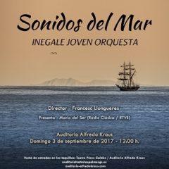 """INEGALE JOVEN ORQUESTA """"Sonidos del Mar"""" en el Auditorio Alfredo Kraus"""