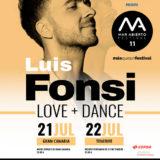 Concierto de Luis Fonsi Love and Dance World Tour en el Anexo Estadio de Gran Canaria