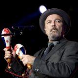 Rubén Blades con Roberto Delgado y Orquesta en el Anexo Estadio de Gran Canaria