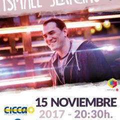 Ismael Serrano, en Noviembre, en el CICCA