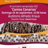 GRAN CANARIA WIND ORCHESTRA con LOS GOFIONES en el Auditorio Alfredo Kraus