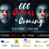 """La Gala """"666 Circus is Coming"""" ,espectáculo multicultural e internacional en el CICCA"""