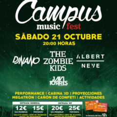 Vuelve el CAMPUS MUSIC FEST  al Recinto Ferial
