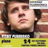 Vitaly Pisarenko en el Teatro Pérez Galdós al piano
