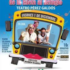 """""""De la Isleta al Refugio"""" con Guayarmina en el Teatro Pérez Galdós"""