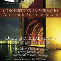 Concierto 20 Aniversario Auditorio Alfredo Kraus