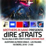"El mejor espectáculo internacional homenaje a dIRE sTRAITS, bROTHERS iN bAND presenta su gira Europea ""The Very Best of DIRE STRAITS"""