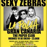 Sexy Zebras ocupa el Paper Club con su directo explícito y contundente.