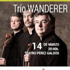 TRÍO WANDERER, concierto de abono en el Teatro Perez Galdos