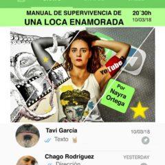 MANUAL DE SUPERVIVENCIA DE UNA LOCA ENAMORADA en el Teatro Guiniguada
