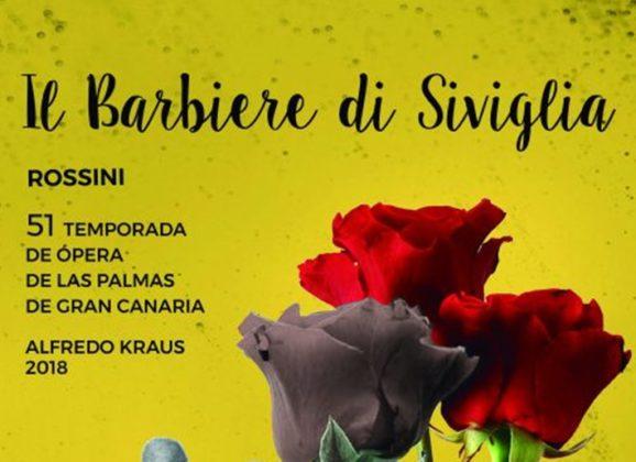IL BARBIERE DI SIVIGLIA, de Rossini en el Teatro Pérez Galdós