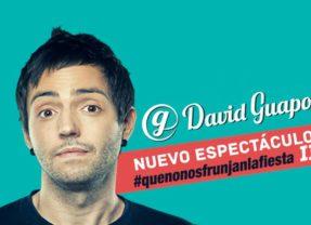 David Guapo nos presenta su espectáculo de humor en el Centro Cívico Carrizal
